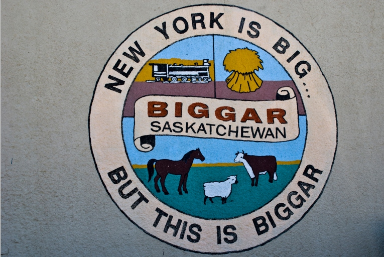 sign that says - new york is big, but this is biggar