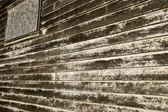 old wood siding