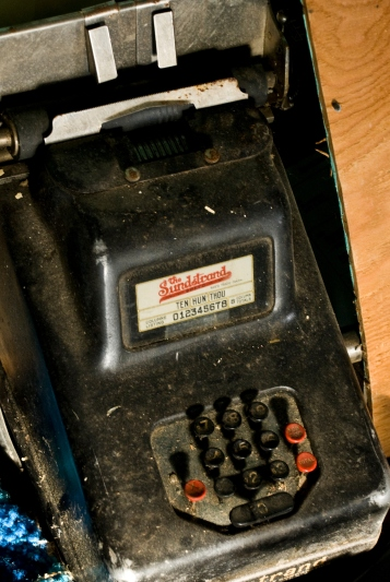 old counting machine