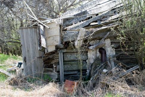 wood shed, wood pile