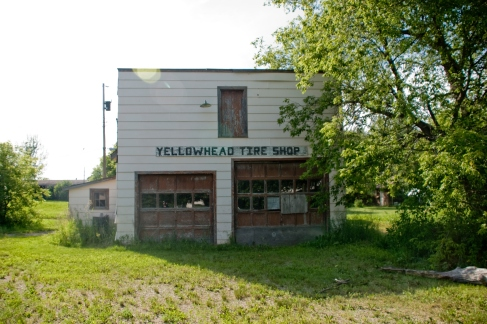 old yellowhead tire shop