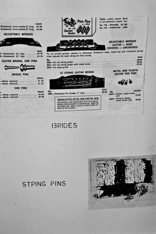 close-up of musical diagram in kitchen of abandoned house