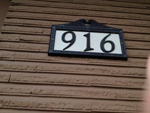 numbers on a house