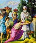illustration of biblical story