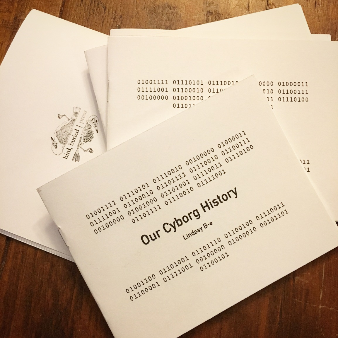 Our Cyborg History Chapbook